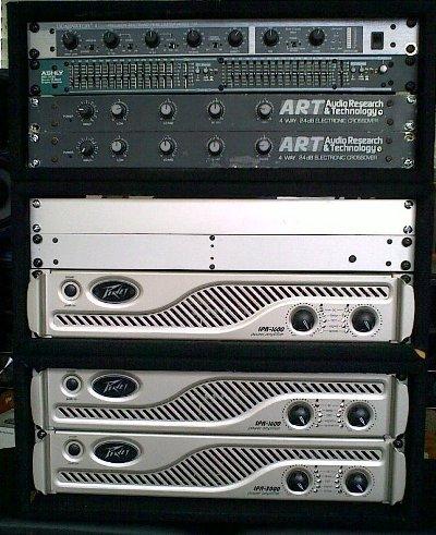 Minirig V8 rack