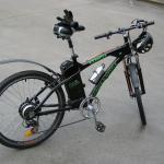 pictures of the greenewheels electric bicycle