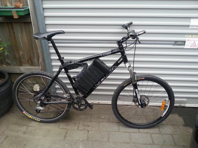 New Electric Bike Kona Blast Stealth Conversion With Bafang Motor